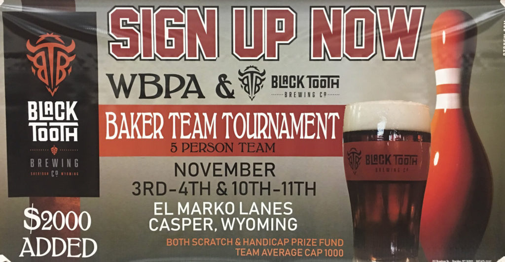 WBPA & Black Tooth Brewing Baker Tournament